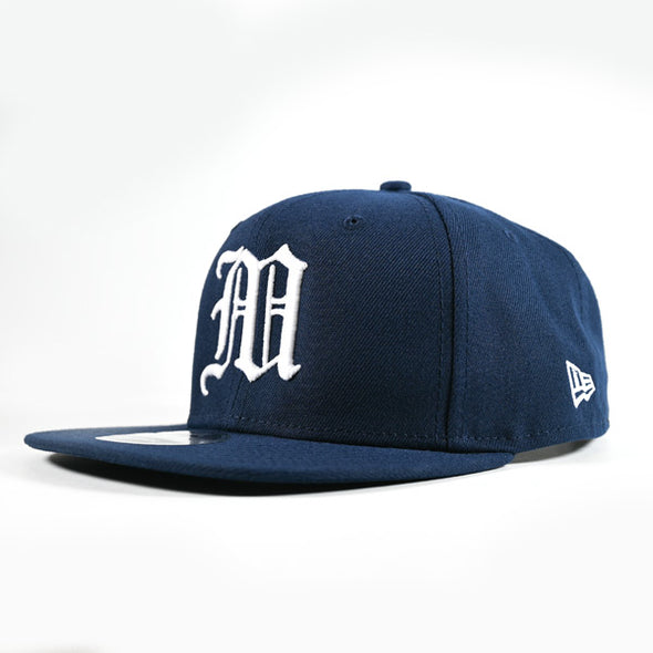 "OG NEW ERA ""M"" SNAPBACK NAVY"