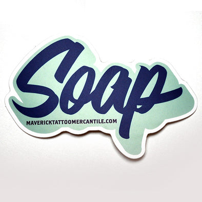 "Individual ""SOAP"" label sticker"