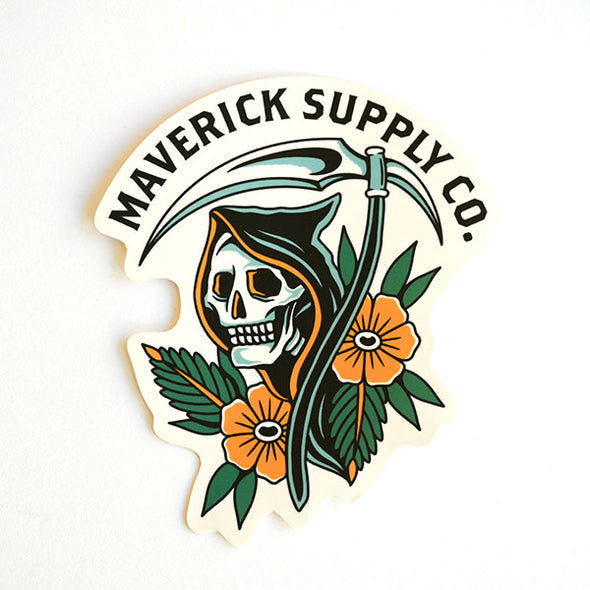 The Most Chillest Reaper Sticker