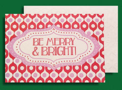 Be Merry Letterpress