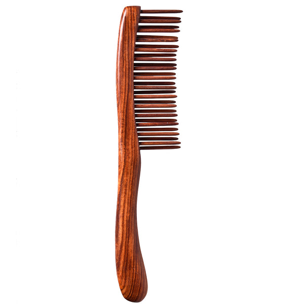 TAN MUJIANG Teeth-inserted Wooden Hair Comb CCHDS0103