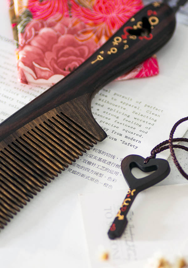 Locked with Love Hair Comb