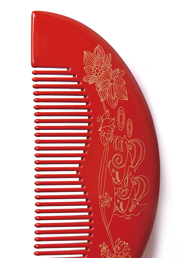 Mandarin Wedding Hair Comb