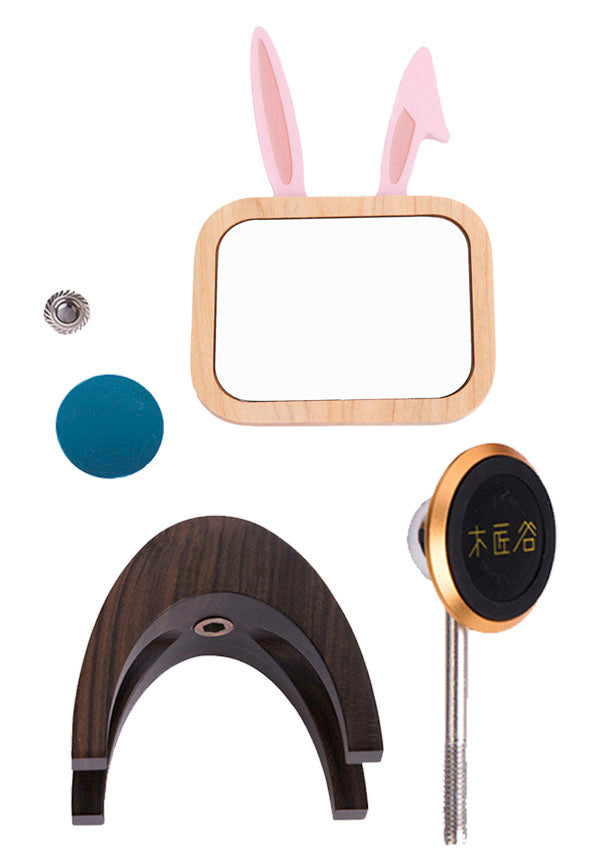 Rabbit Style Cosmetic Desktop Mirror