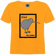 Cartoon Kiwi T-shirt