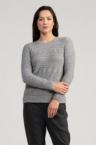 Peak Crop Sweater