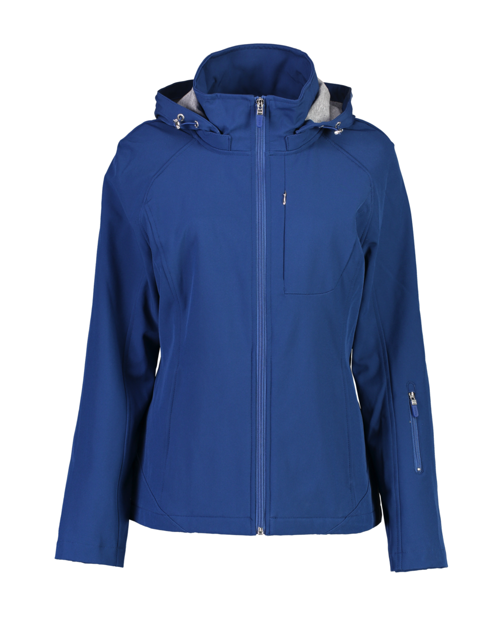 Ladies Basic Hooded Softshell