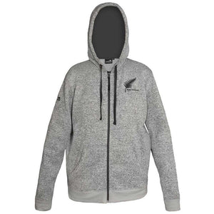 Men's Knit Fleece Hooded Jacket
