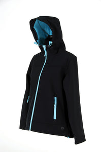 Rosella Soft Shell Jacket-Ebony
