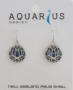 Paua Lotus hook