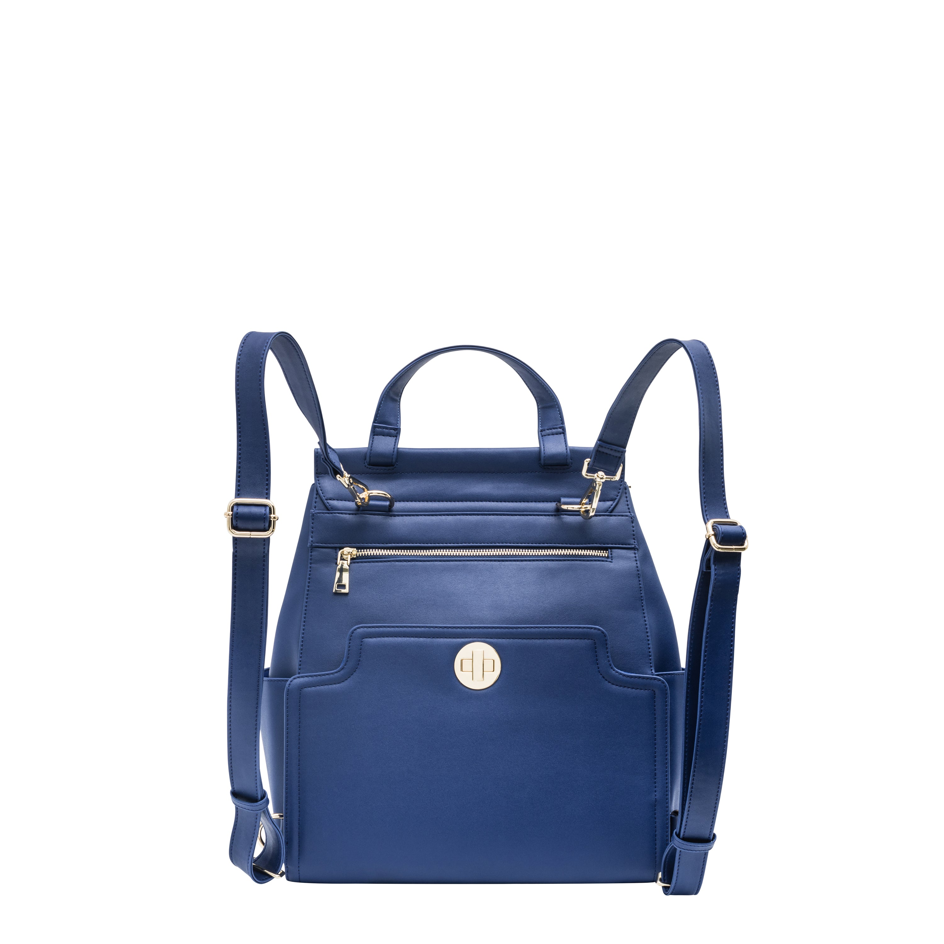 EVA Backpack has the style of a luxury designer purse with the functionality of a diaper bag,