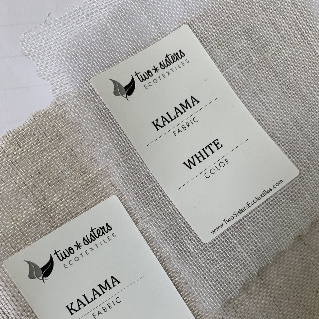 Kalama Long Fiber Linen by Two Sisters Ecotextiles