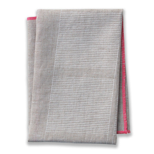Ledger Pink Tea Towel