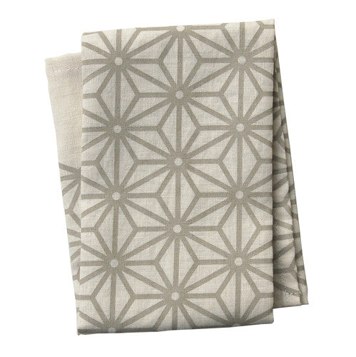 Star Neutral Tea Towel