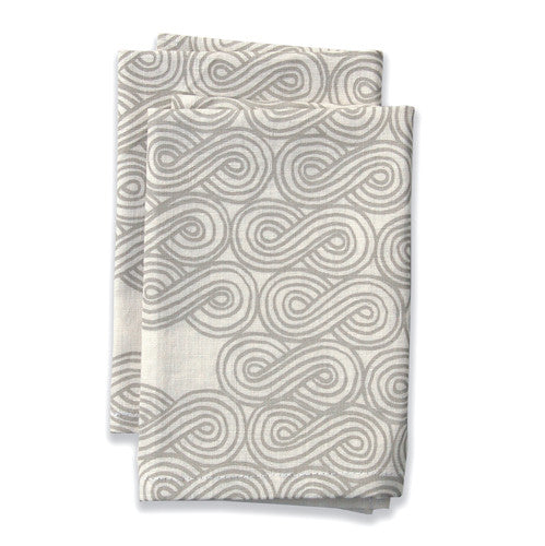 Cloud Neutral Large Napkins (set of 4)