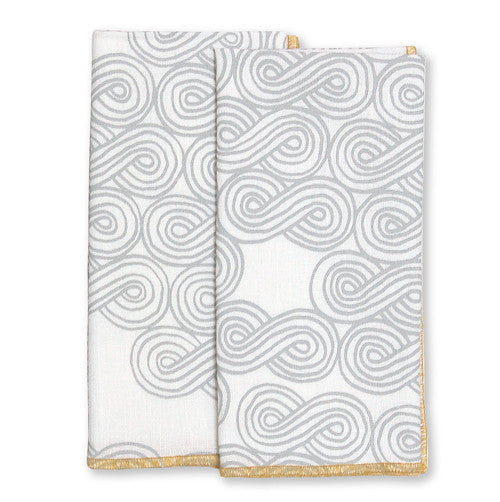 Cloud Ochre Large Napkins (set of 4)