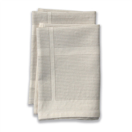 Ledger Neutral Large Napkins (set of 4)