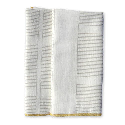 Ledger Ochre Large Napkins (set of 4)