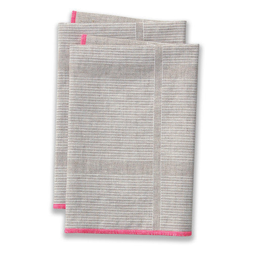 Ledger Pink Large Napkins (set of 4)