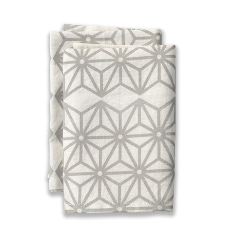 Star Neutral Large Napkins (set of 4)