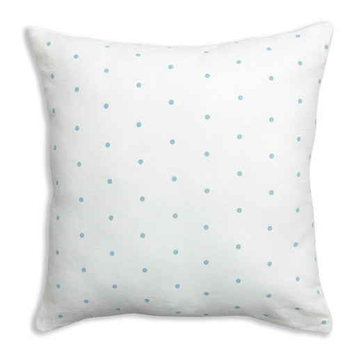 Dots Turquoise Pillow Cover