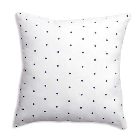 Dots Black Pillow Cover