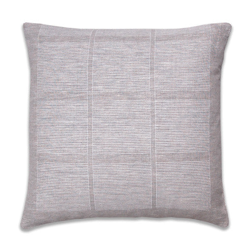 Ledger Neutral Pillow Cover