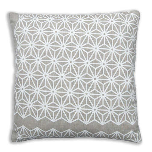 Star Neutral Pillow Cover