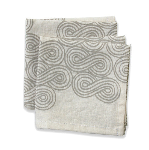 Cloud Neutral Small Napkins (set of 4)