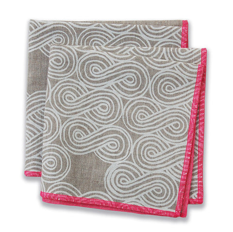 Cloud Pink Small Napkins (set of 4)