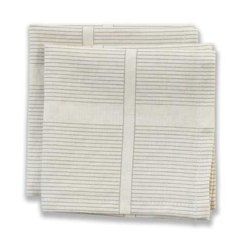 Ledger Neutral Small Napkins (set of 4)