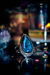 **GENIE** SACRED WEALTH Illuminous Genie Wealth Djinnya of the 7 Secret Rites of the Occult Mystics Hidden Codes of the Ancient Ones Extreme Power Ring ** SACRED POWER ** SUMERIAN GOD Gypsy Ring Occult ~ $$$