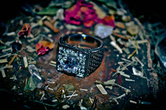 **MONEY** MULTIPLIER X3 Wealth Power Triple Cast Spell HAUNTED Gambling Lotto Attract Money 3x3 LUCKY 777 Genie Magick! Success Occult Ancient Ring! - Size 8