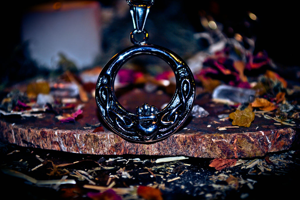 Products lothorian magick rare claddagh irish good luck ancient pagan wealth abundance love aloadofball Choice Image