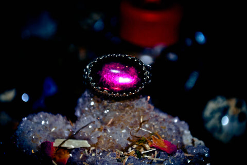 **RARE** ILLUMINATI ORACLE OF KHASTAZIA Knights Templar Freemason Skull & Bones Occult Paranormal Ring Millionaire Wealth Elite Status Ultimate Power Success Fortune Good Luck $$$ Magick DJINN / Genie Artifact Relic 100,000 WISHES **