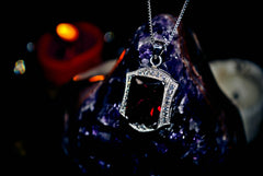 Sanguine Vampire Amulet of Eternal Wealth and IMMORTALITY! Haunted Ring Metaphysical Talisman Pendant! .925! * ULTIMATE Wealth 33 Money & Luck Spells PARANORMAL VAMP! $$
