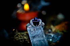 ROYAL QUEEN Jinniyah Genie of Ultimate Desires! Magnificent Haunted Djinnya Ring! Money Abundance Success Wealth! .925! *** WISHES * Sacred Magick Ring! $$$