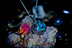 **RARE** Haunted Spirit Orb Master of the 7 Gates Djinn/Genie Pendant ~ White Magick Psychic Gifts, Speak to the Dead, Gain Wisdom, Boost Intellect! Occult * Pure MAGIC! $$