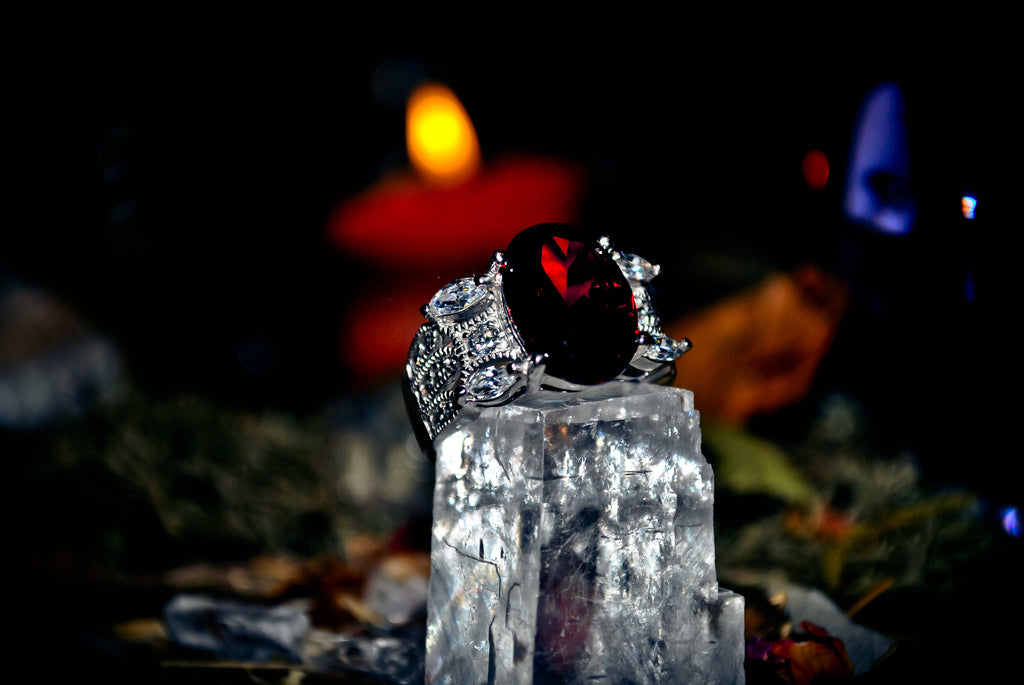 Haunted Paranormal Pure Blood Carpathian Vampire Priestess of Unlimited Wishes Djinn Genie Ring! .925 * Astral Energy ~ Extreme PARANORMAL Elite Occult WEALTH $$