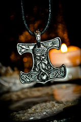 HAUNTED NORSE WARLOCK ALMIGHTY POWER of THOR AMULET! GENIE PENDANT** UNLEASH SECRETS & MAGICK OF NORSE GODS!