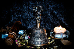 **SPIRIT BELL** Haunted King Solomon Spirit Summoning Portal Bell! Ancient Metaphysical Treasure allows You to Conjure, Command, Bind Spirits! Gain Wealth & Power! $$$