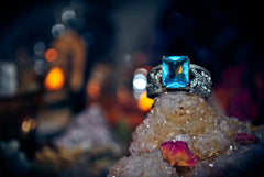 **AMAZING** FOUNTAIN OF YOUTH Beauty Spell Ring ~ Haunted Metaphysical Pagan Wiccan Gypsy Witch Magick! ~ BEAUTY! ** Alchemy MAGIC Spiritual Ring ~ 100% Pure!