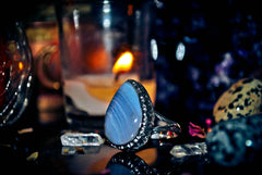 NEW * ELORIA Wealth * Occult Ancient Wealth Power Healing Vision Quest Magick Ring of Occult Treasures Ring **WEALTH** Illuminati Protection ANGEL DJINN of Sacred Light God of Success 3rd Eye Genie Magick! WEALTH + ALL Wishes Come True!  * BLESSED! $