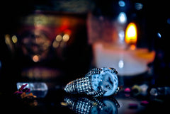 ** DRAGON of WISHES ** Templar Occult Ancient Secret Society Haunted Ring VAST RICHES Genie Djinn Skull & Bones! WEALTH + Grant ALL WISHES! * BLESSED! $ Stocks Investments Luxury Cash * OUROBOROS *