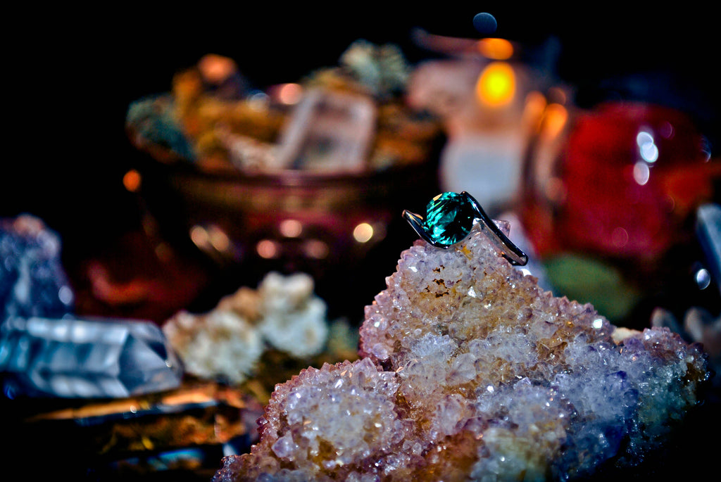 **PROSPERITY** Lucky 7 Forest Wealth Good Luck Spell Vessel Ring! ** Old Earth Magick ** Purify Your Aura & Spiritual Energy! Banish Bad Karma! Get Rid of Negative Energy! * SACRED!