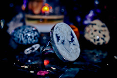** HAUNTED RING ** GHOST Spirit Ring Gilded Coven Knights Templar Warlock Ancient Energy Metaphysical Paradigm Shifts! Brings Power of ESP, Clairvoyance & Psychic Ability! * WISHES *