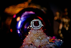 ** RUBY ** Love, Sex, Passion & Romance Spell Magick Ring Alchemy Haunted Metaphysical Pagan Wiccan Gypsy Witch Paranormal Magical Ring! ** Hot! * 100% Pure Energy! .925!