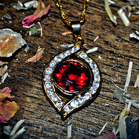 SANGUINE VAMPIRE AMULET of Eternal Wealth and Immortality! Haunted Paranormal Metaphysical Spell Talisman Pendant! .925!