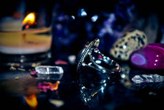 Haunted Ring Master SOLOMON DJINN Templar $$$ SECRET SOCIETY TEMPLAR OCCULT Magick HAUNTED *** Energy Vortex Super-Charged Healing DJINN Seraphim Devata 11th Realm Esoteric ELITE Power * Skull & Bones ANCIENT Knowledge! WEALTH $$$