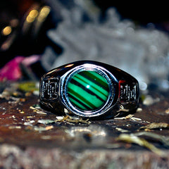 TALISMAN WEALTH Secret Society Elite Haunted Wizard Ring! Ultimate Riches! Money and Power! Ancient Prosperity Spell!